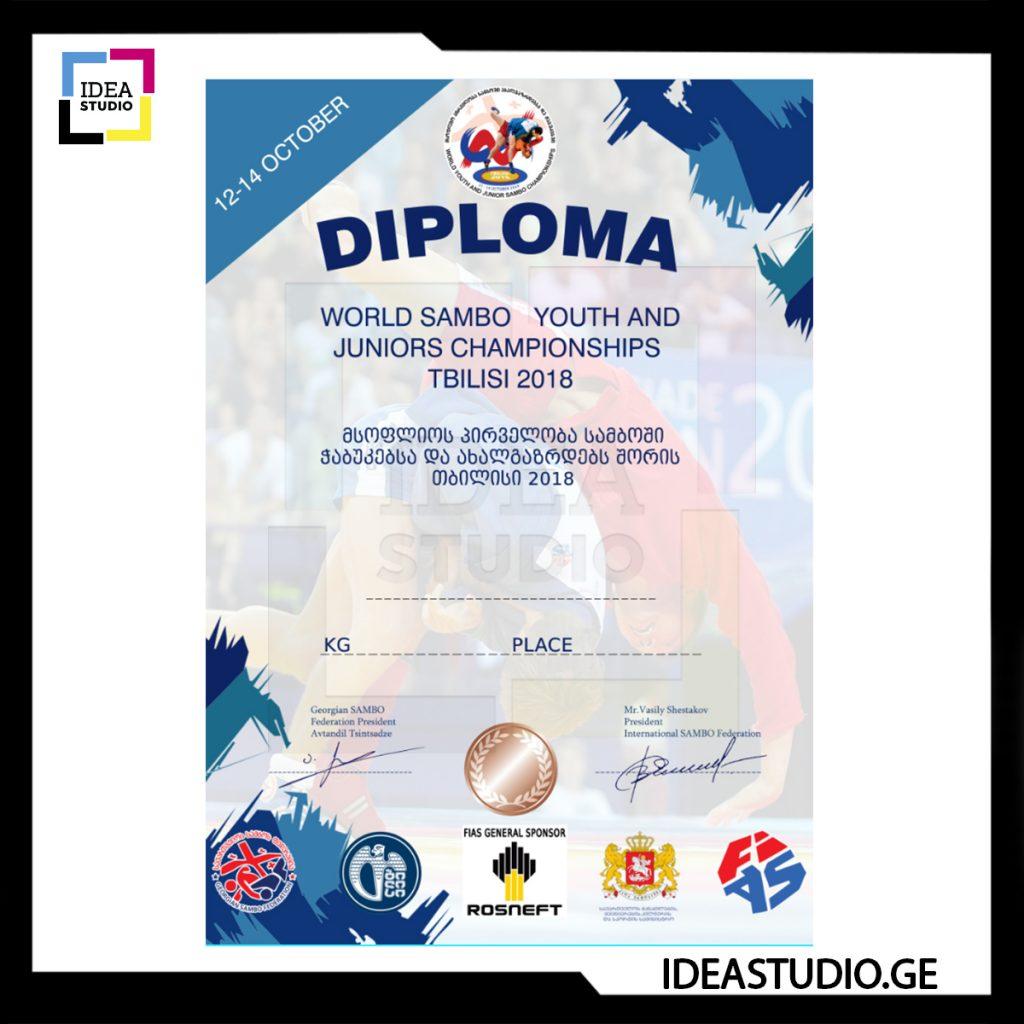 Diploma Sambo ФОТО РАБОТ IDESTUDIO ДЛЯ INSTAGRAM